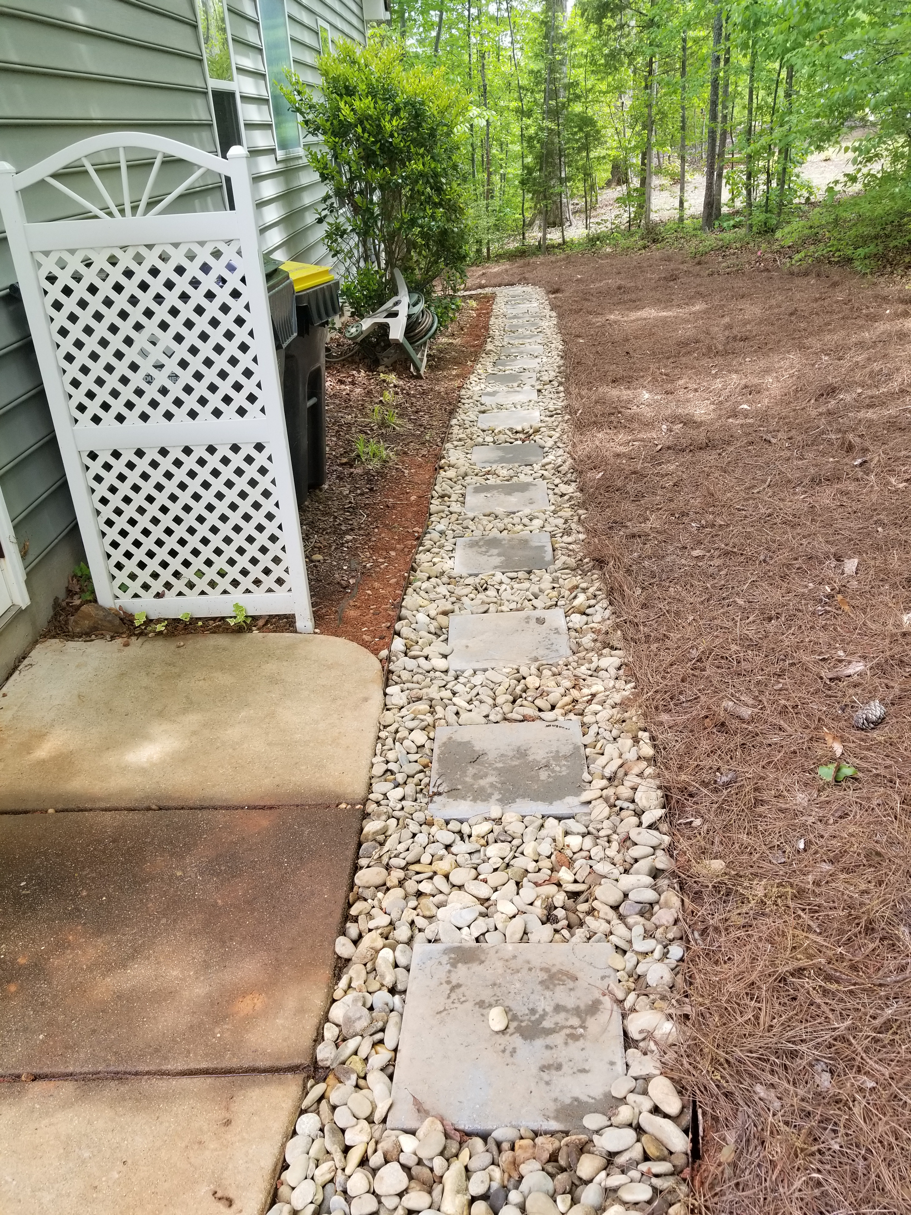 French Drains In And Around Fayetteville And Southern Pines