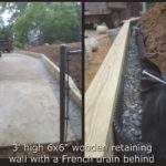 French drain system, French Drain Contractors, Raleigh, NC